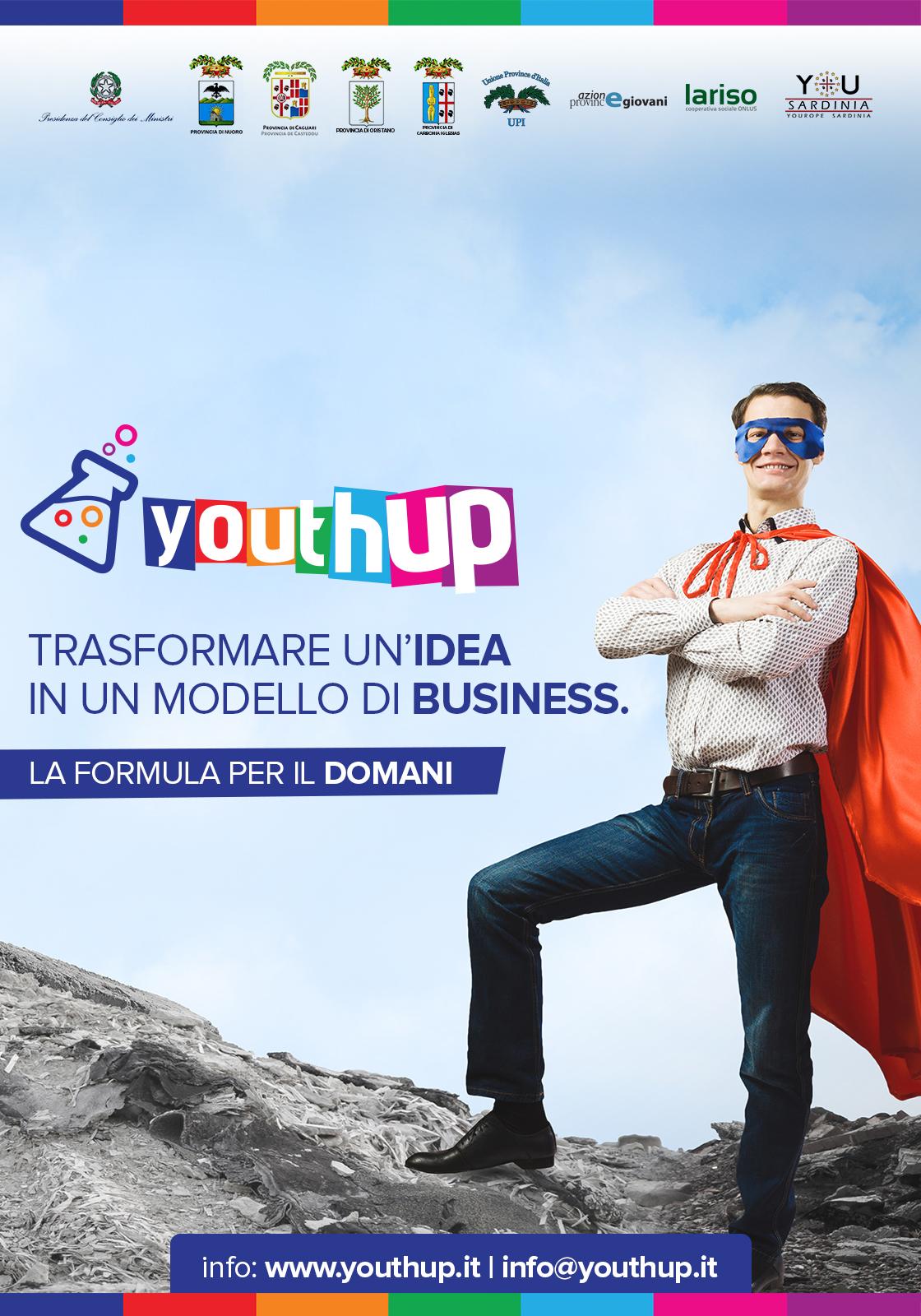 YouthUP - Manifesto 100x70 - Formato Web